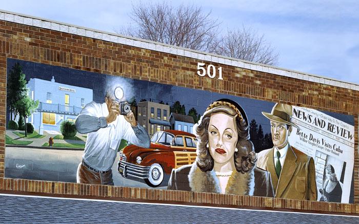 Amelia Earhart Mural